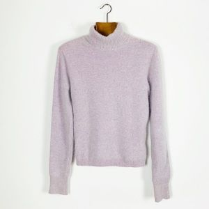 J Crew Wool Angora Blend Fuzzy Turtleneck Sweater